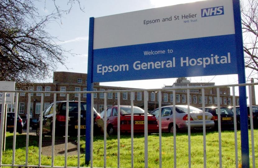 Crispin Blunt seeks public support for Epsom & St Helier hospital