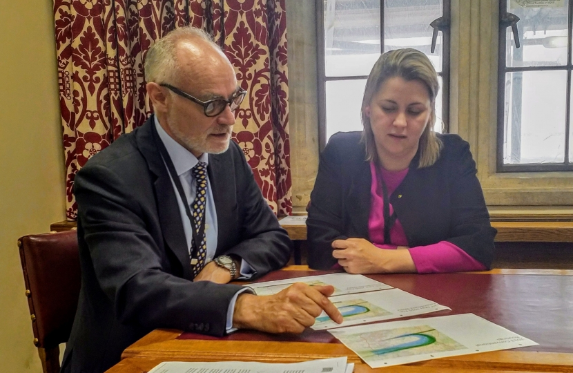 Crispin Blunt with Baroness Sugg