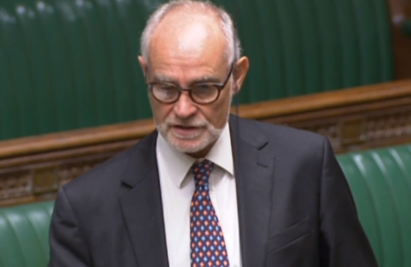 Crispin Blunt speaking in the House of Commons Chamber 18/10/18