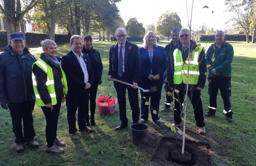 TREE PLANTING BANSTEAD